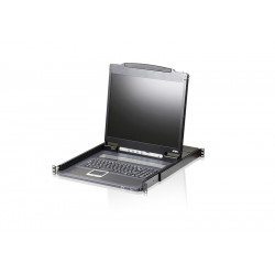 Aten CL3000N Lightweight PS/2-USB LCD Console