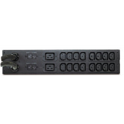 APC AP7724 Rack ATS, 2U 230V, 32A, IEC309-32A In, (16)C13, (2)C19 Out