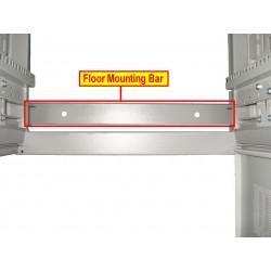 Floor mounting bar