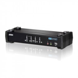 Aten CS1764A 4-Port USB DVI Audio KVMP Switch