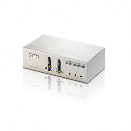 Aten VS0202 VGA Audio Matrix Switch | 2x2