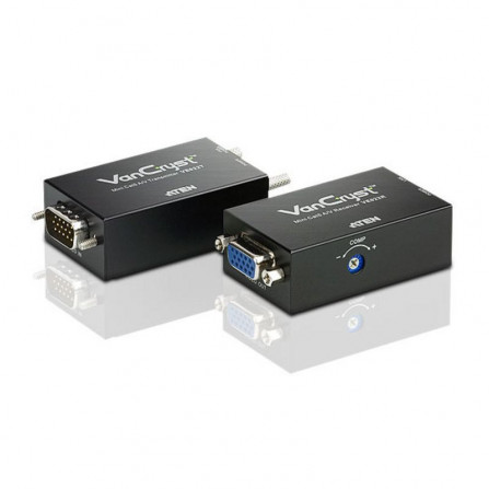 Aten VE022 Mini VGA Audio Cat 5 Extender