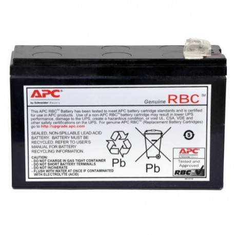 APC APCRBC125 Replacement Battery Cartridge # 125