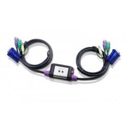 Aten CS62A 2-Port PS2 KVM Switch