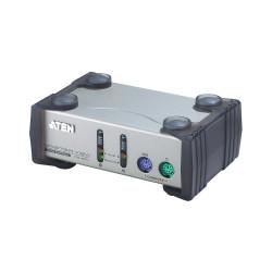 Aten CS82A 2-Port PS2 KVM Switch non-powered