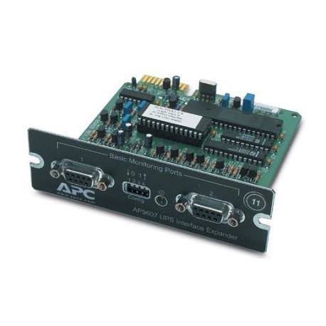 APC AP9607 2-Port Serial Interface Expander SmartSlot Card