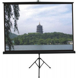 Comm Tripod Projector Screen - W84 x H84 inch