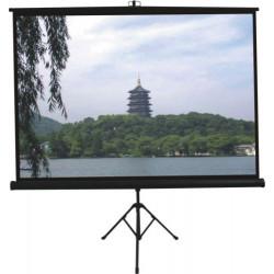 Comm Tripod Projector Screen - W96 x H96 inch