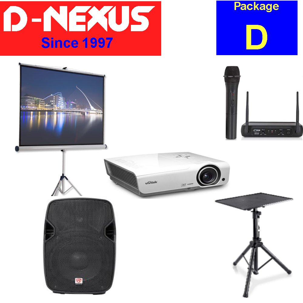 Projector Rental package D